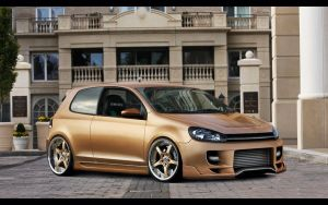 VW Golf VI Gold Edition by no5master