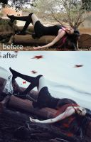 Before-After Empty Heart by passion-aesthete