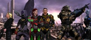 MassEffect: Salvation War- We Are One by EnduringFighter
