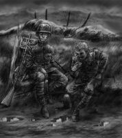 """Soldiers 01 - """"Colour"""" by Bjerg"""