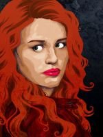 Lydia Martin - Teen Wolf by dictator-vaish