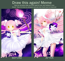 Improvement Meme 2014-2015 by rimuu