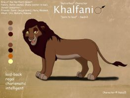 King Khalfani Ref Sheet by Nala15