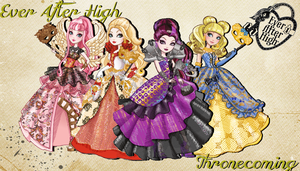 Ever After High Thronecoming Wallpaper by Wizplace