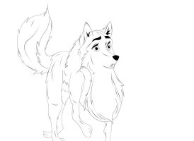 Jenna from Balto by StarGriffin
