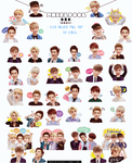 EXO NAVER PNG RENDER PACK 40P by tauotauomaker