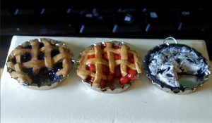 Blueberry, Cherry, and Oreo Pies by Saint-chan