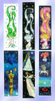 Royalty bookmarks by NitroFieja