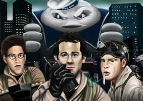 Ghostbusters by Martin-Saelens