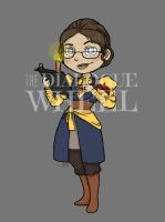 Chibi joesphine - dialogue wheel chachi by Dino-Myte
