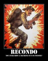GI JOE Recondo motivational by DevintheCool