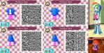 Animal Crossing: New Leaf QR Code - Rainbow Dash by MysteryMoonbeam