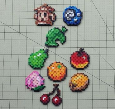 Items and Fruit - Animal Crossing Sprites by MaddogsCreations