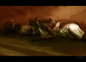 Play dead, soldier by LeSoldatMort