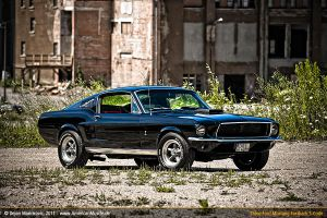 Black S-Code Mustang I by AmericanMuscle