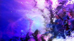 Nightmare Moon Abstract Wallpaper by Tom-The-Rock