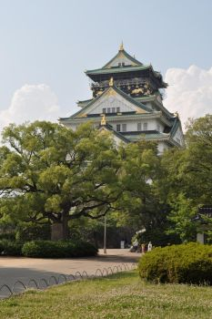 Osaka castle by patiente