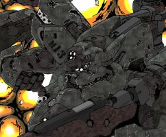 Mech battlefield WIP5 by shinsengumi77