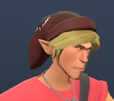 Link's Hat Team Fortress 2 - Scout Hat - WIP by CompanionSputnik