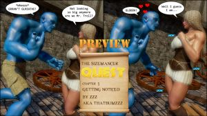 The Sizemancer Quest preview 2 by zzzcomics