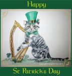 Happy St Patrick's Day by SuzanneHole