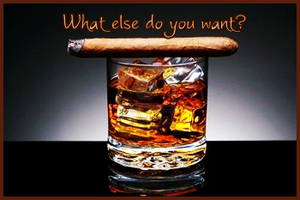 Whisky and Cigar by TheBigRedMonster
