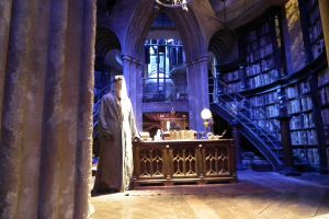 Dumbeldore's Office by MissNuttyTree