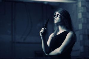 Sarah Connor style by Fanfnirr