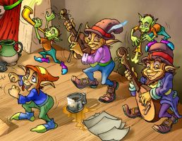 Musicians by CARUTOONS