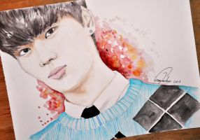 (Art trade) N from VIXX by TheCorinna