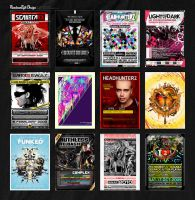 Posters 2006-2010 by ruudvaneijk