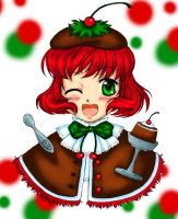 Christmas Pudding by Golden--eyes