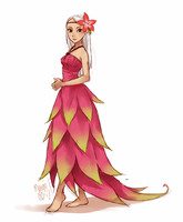 dragonfruit fullbody by meago