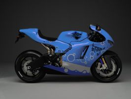 Ducati Blue by DOGFATHER-X9