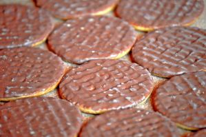 Chocolate Digestive Biscuits by StevenARTify