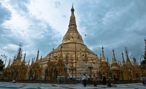 Shwedagon Pagoda - 2 by SantiBilly