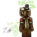 Popgoes the weasel by ButtonmashMC