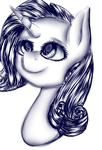 Rarity (sketched) by ChasityArcherkiller