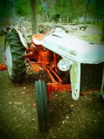 Vintage Ford Tractor II by HarleyQuinn2012