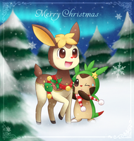 Rudolph, The Reindeerling by CaninePrince