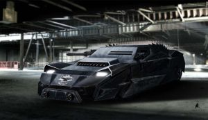 Armored race vehicle concept by aaronlam