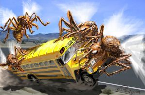 Bus Attack Colorup by ARMORMAN