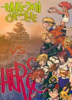 takeshi castle VS heros by red3erry