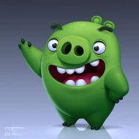 Angry Birds Movie - Minion Pig by Javas