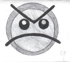 Newgrounds angry face by Theory-Of-Existence