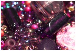 Glitter Beads by I-Am-Coma-White