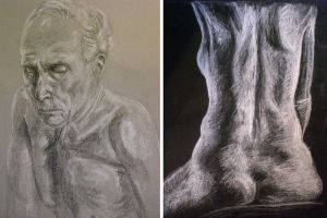 Life Drawing Samples by aubrey9001