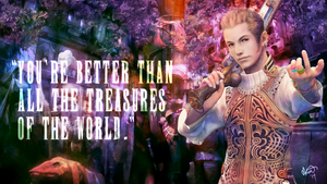Final Fantasy Valentine - Balthier by fairygodpiggy