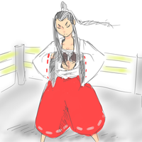 Miko MMA fighter by The-Man-Called-G