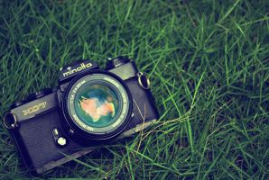 My Mom's Minolta by patdes